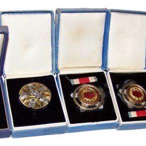 Eksponati iz Istorijske zbirke muzeja. Ordenje, II svjetski rat