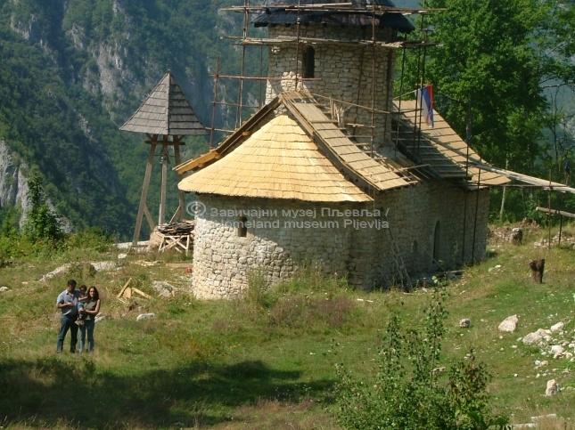 Манастир Довоља, ХРОНОЛОГИЈА ГРАДЊЕ 115