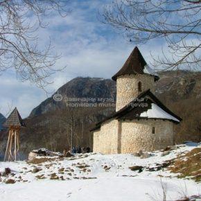 Manastir Dovolja, sa crkvom posvećenom Uspeniju Presvete Bogorodice