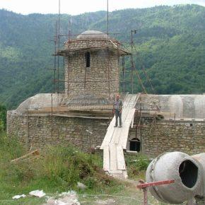Manastir Dovolja, HRONOLOGIJA GRADNJE 65