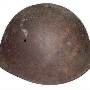 Eksponati iz Istorijske zbirke muzeja, italijanski šlem, II svjetski rat