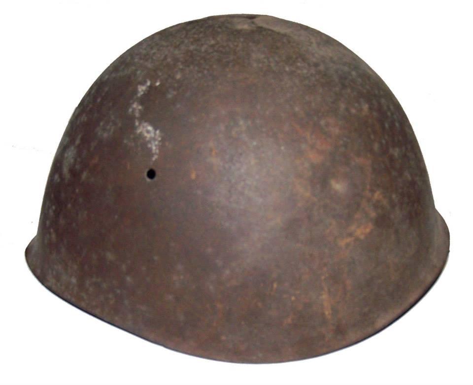 Експонати из Историјске збирке музеја, италијански шлем, II свјетски рат