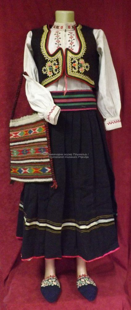 Женска православна ношња из Пљеваља