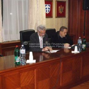 Naučni skup XV, Zavičajni muzej Pljevlja, Predsjedavajući: akademik Ljubomir Zuković i mr Mehmedalija Nuhić (prvo veče)