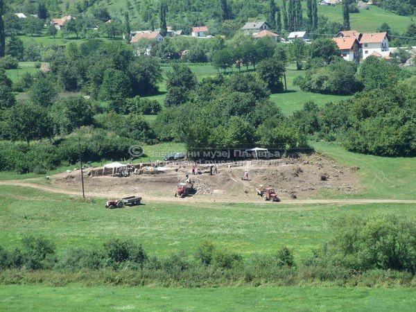 Комини, археолошка ископавања 2008.год.-2
