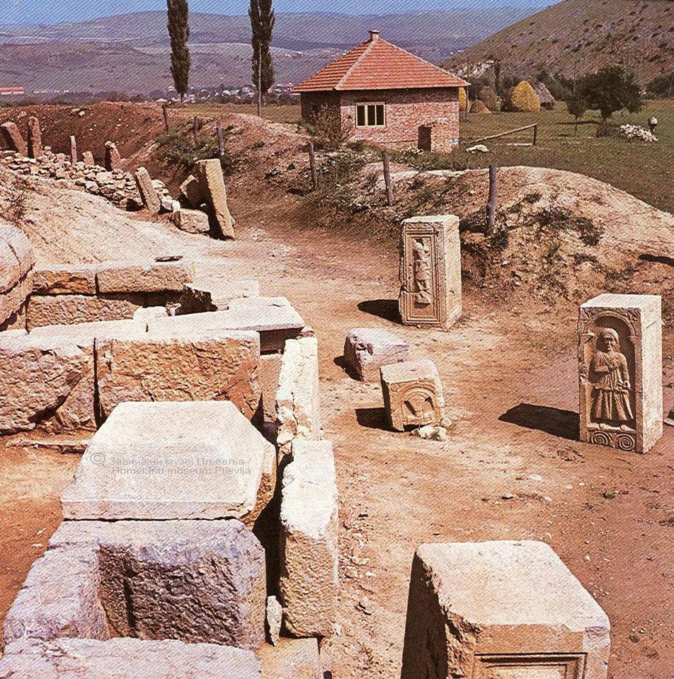 Komini, Municipium S, nekropola, Pljevlja