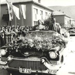 Posjeta Josipa Broza Tita Pljevljima-1959.god-1