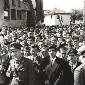 Posjeta Josipa Broza Tita Pljevljima-1959.god