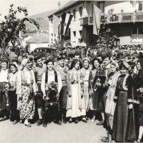 Posjeta Josipa Broza Tita Pljevljima-1959-6
