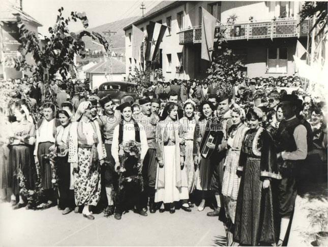 Посјета Јосипа Броза Тита Пљевљима-1959-6