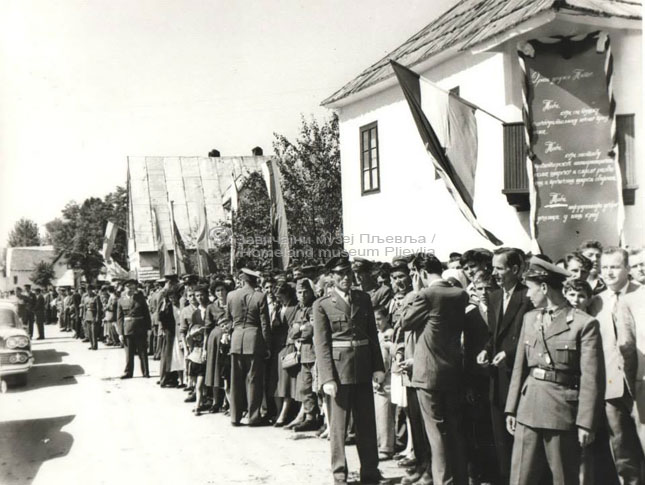 Посјета Јосипа Броза Тита Пљевљима-1959-4