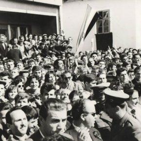 Posjeta Josipa Broza Tita Pljevljima-1959-3