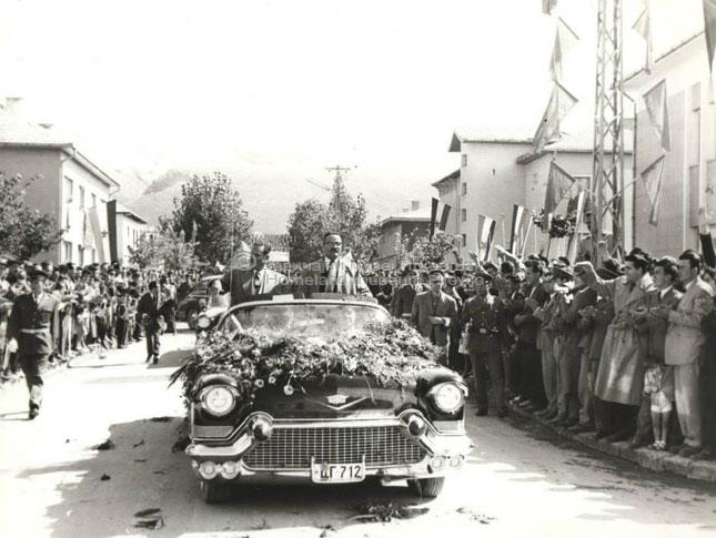 Посјета Јосипа Броза Тита Пљевљима-1959-2