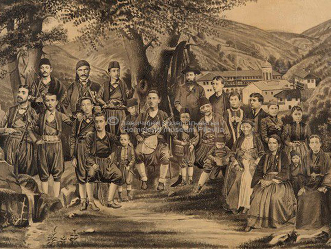 Tanasije Pejatović, Porodica Pejatović i Djenisijević, lavirani tuš