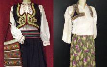 Ženska pravoslavna i ženska muslimanska nošnja iz Pljevalja ~