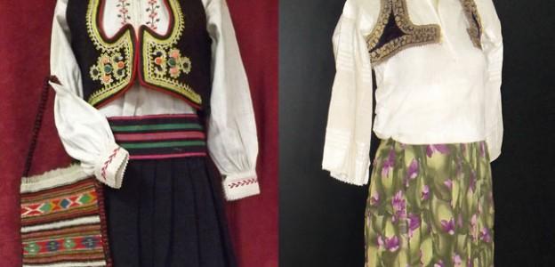Женска муслиманска и женска православна ношња из Пљеваља