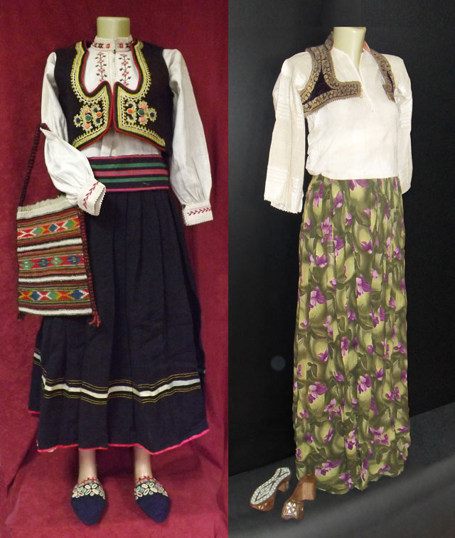 Ženska pravoslavna i ženska muslimanska nošnja iz Pljevalja 10