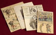 VELIKI NARODNI TIPAR - Šaljivo-stoki i ilustrovani listić za uzdanicu Srbinovu 1893-1895.